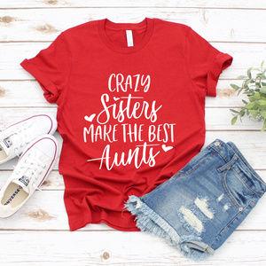 Aunt Tshirt - Red Unisex Tee